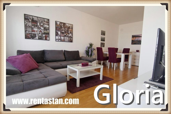 apartment for a day in Belville GLORIA LIVING ROOM