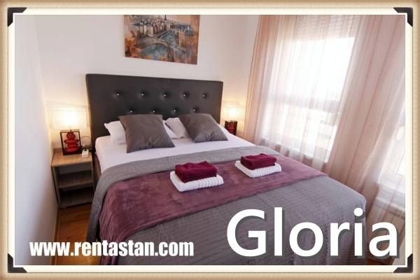 apartment for a day in Belville GLORIA bedroom