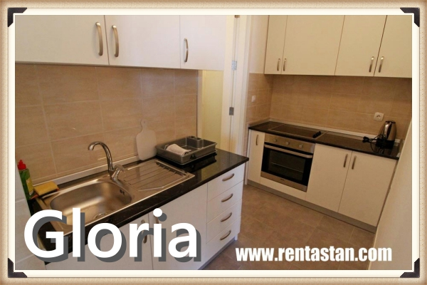 apartment for a day in Belville GLORIA kitchen