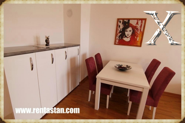 apartment for a day in Belville TENNER dining