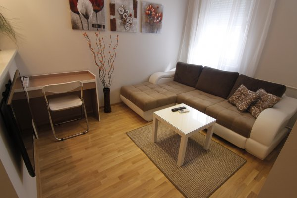 Living room New Belgrade Apartment ORION
