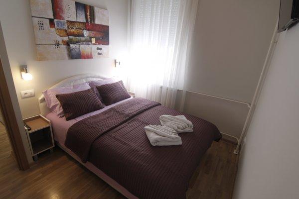 Bedroom New Belgrade Apartment ORION