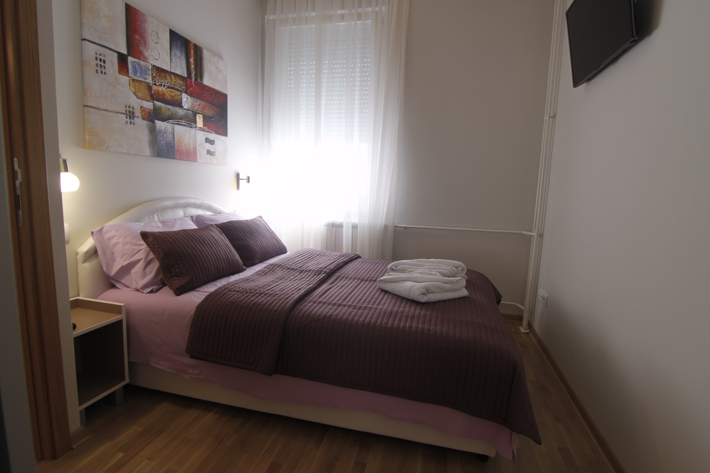 Spavaća soba Apartman Novi Beograd ORION