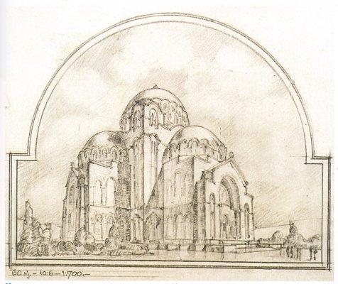 план Богдана Несторовића (са детаљима Александра Дерока)