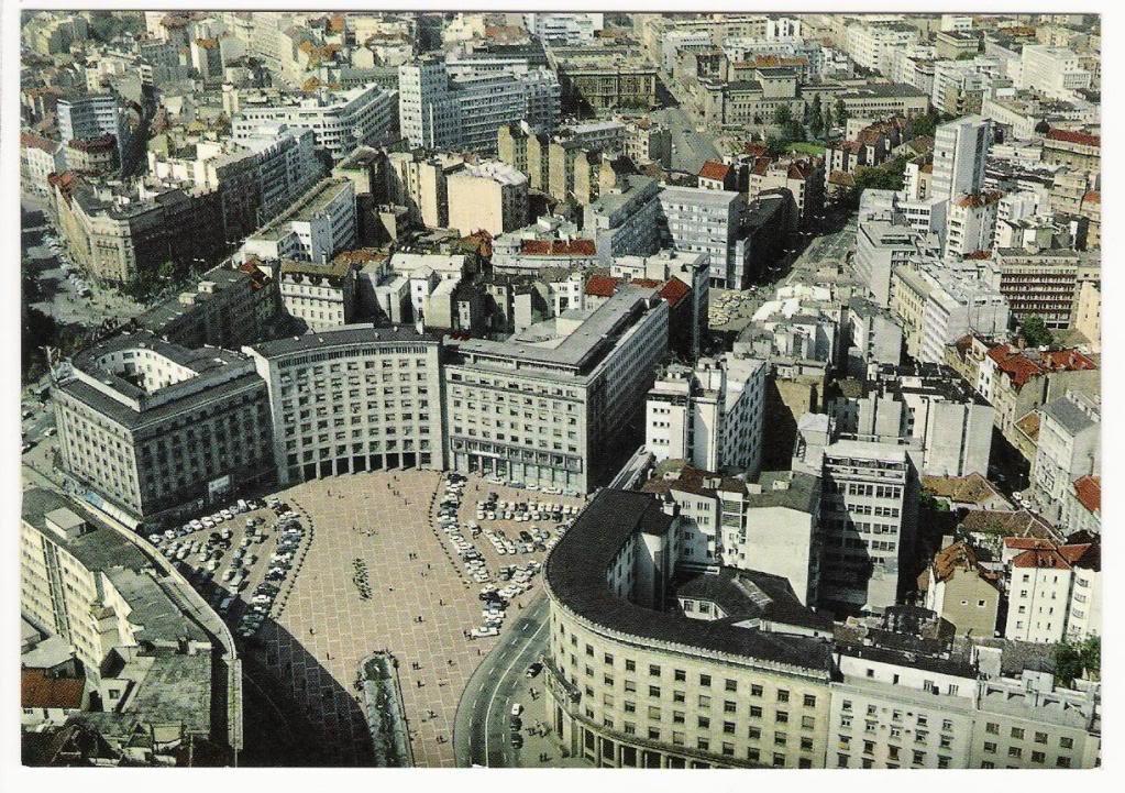 Fotografije starog Beograda - Trg Nikole Pašića, nekada Trg Marksa i Engelsa