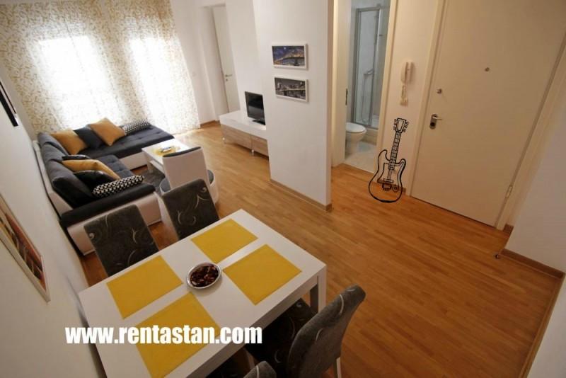 Guitar Art accommodation - apartment Six