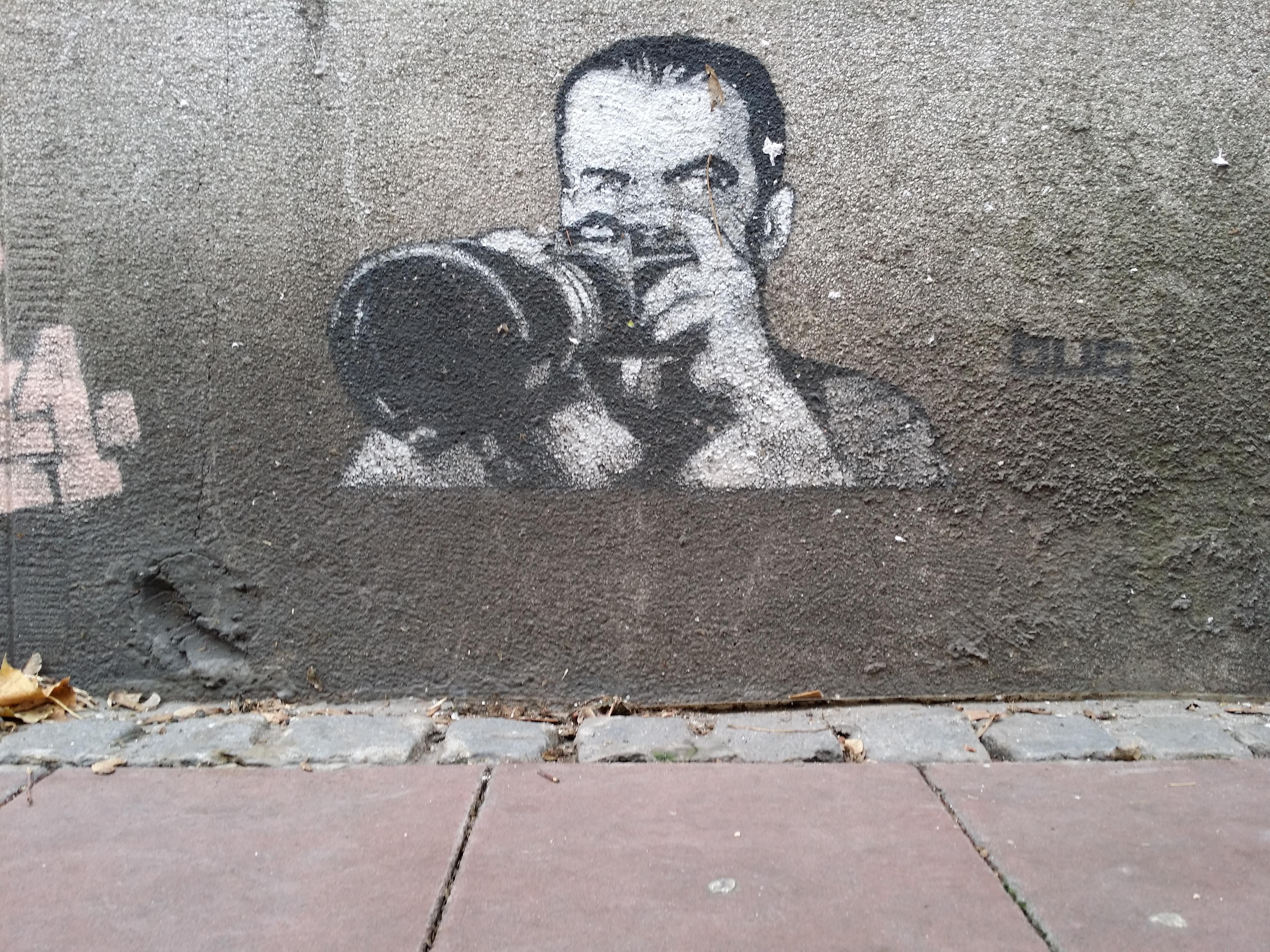 Fotograf Simina Grafit Stencil Street art