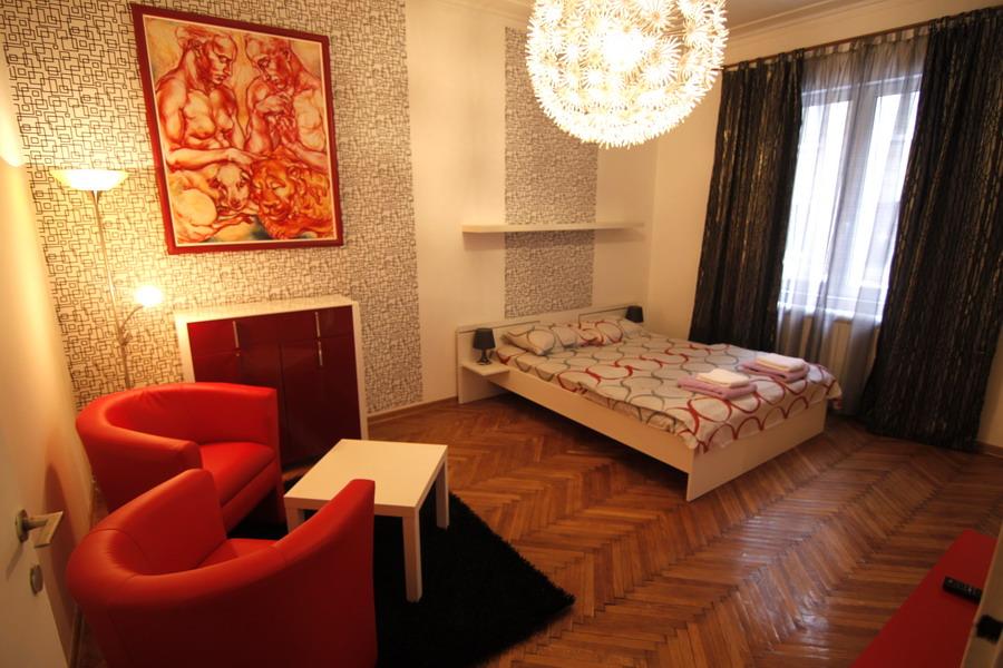 Apartman Prag sad