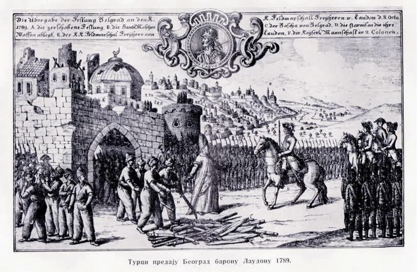 Turci Predaju Beograd Baronu Laudonu