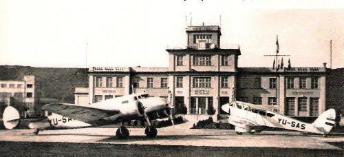 Beograd koji manje poznajemo - Beogradski aerodrom 1938.godina