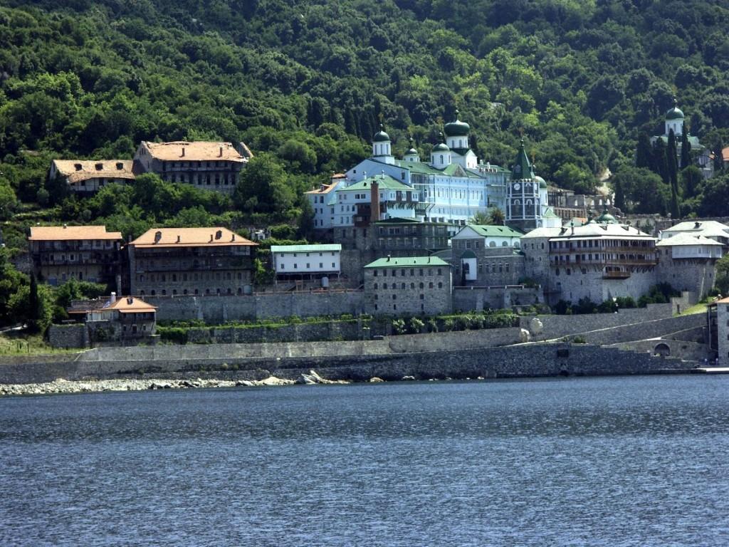 Manastir Sv Pantelejmon na Svetoj Gori