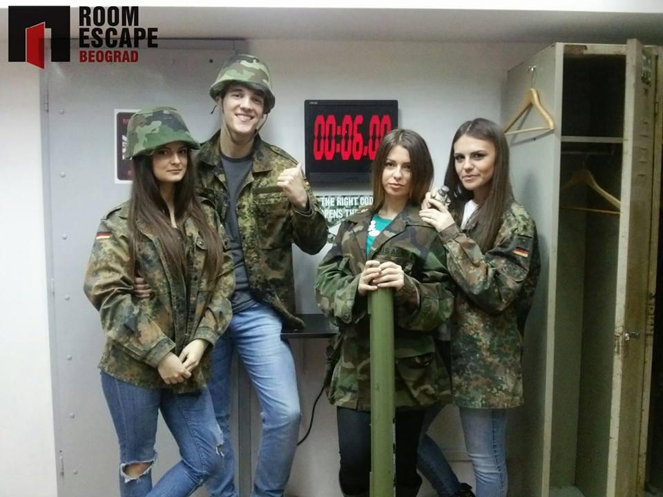 Bekstvo iz Bunkera ROOM ESCAPE BALKANSKA u Beogradu za fotografija pruzeta sa https://www.facebook.com/pages/Roomescape-Beograd/