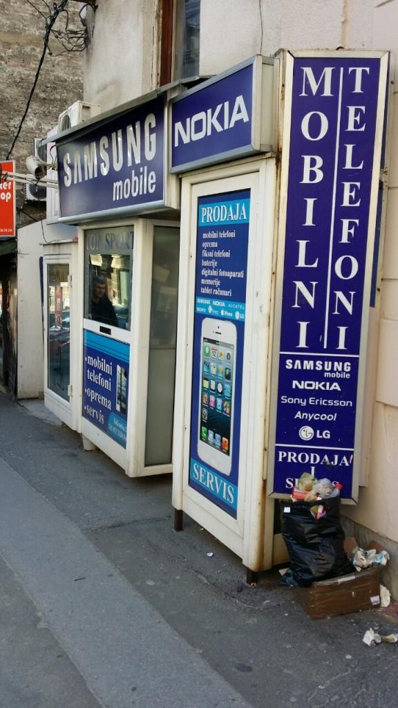 Jedan od brojnih mobilnih telefondžija ;)