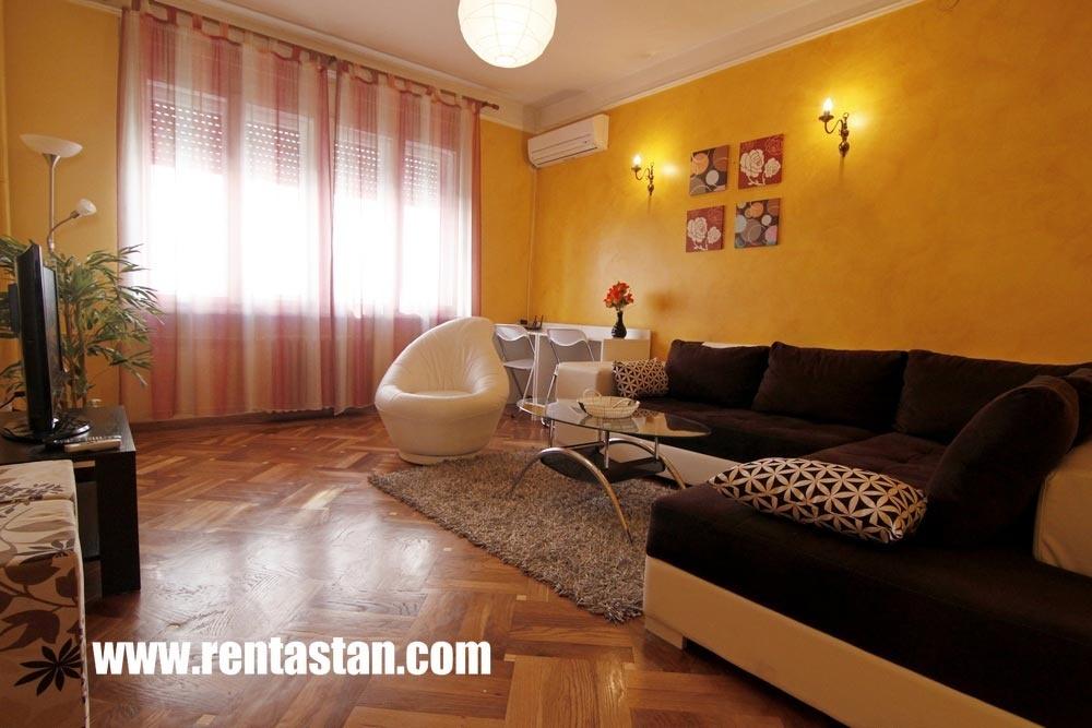 Living Room Balkan Apartment