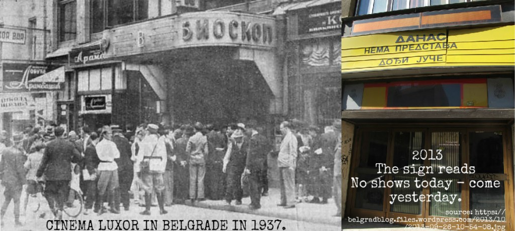 20th October Cinema 80 yrs difference