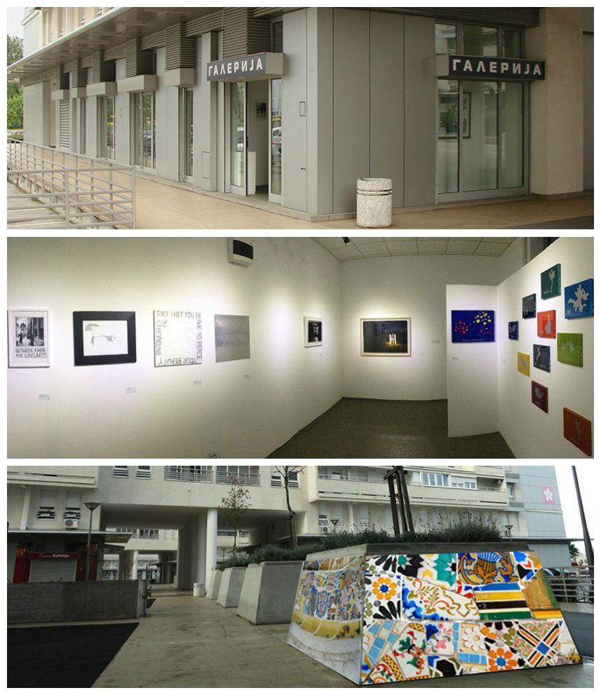 gallery of modern art Belvilee Belgrade