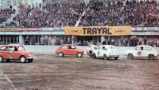 Autoball Match in Tasmajdan 1978