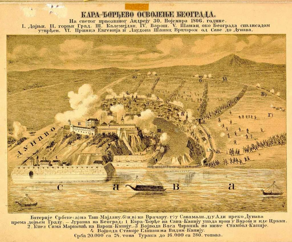 Karadjordje's Conquest of Belgrade, Battle Plan