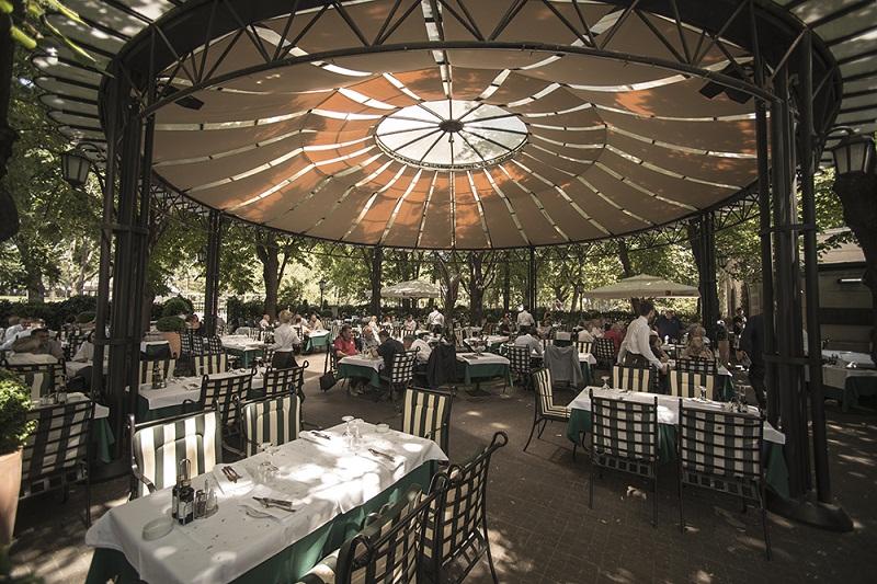 Madera Restaurant, Garden