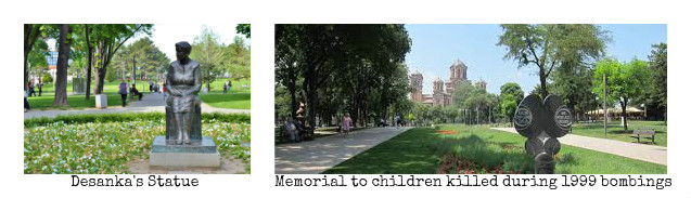Tasmajdan's tragic Memorials