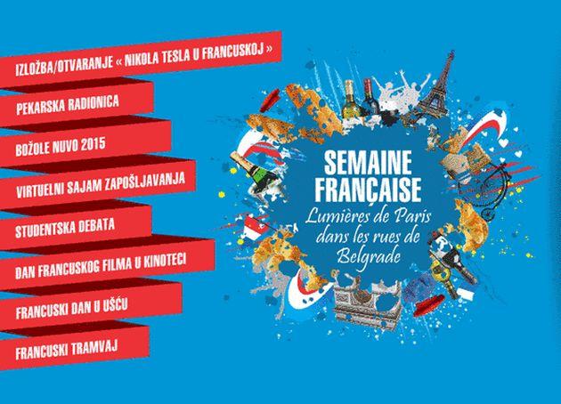 Šta raditi u Beogradu-francuska nedelja