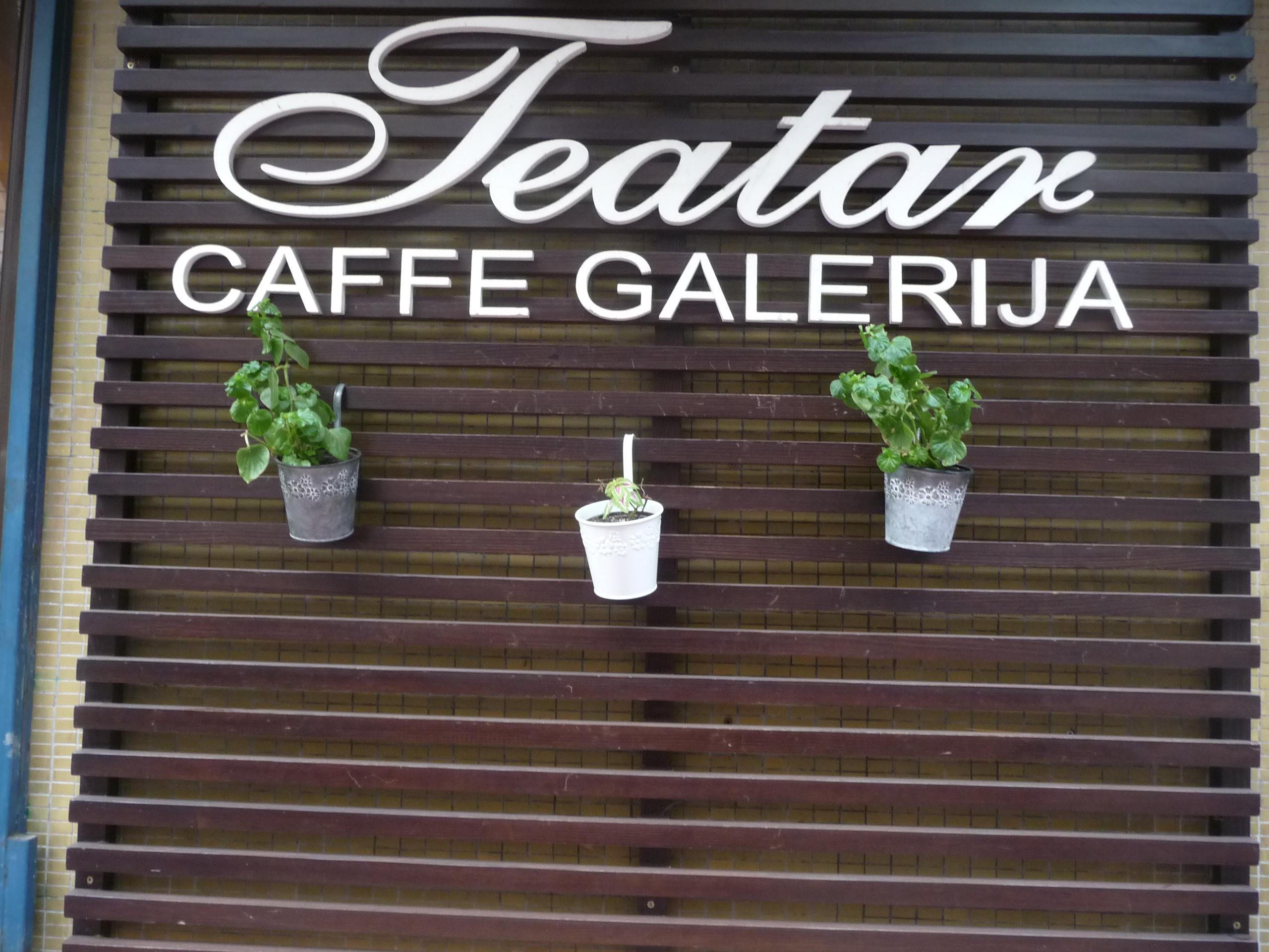 Kafe galerija Teatar