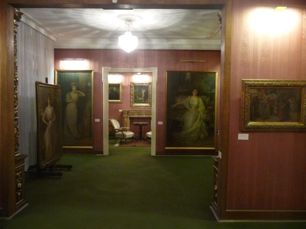 Legat Paje Jovanovića - soba s portretima