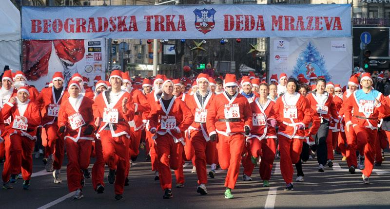 Šta raditi u Beogradu ove nedelje - Trka Deda Mrazova