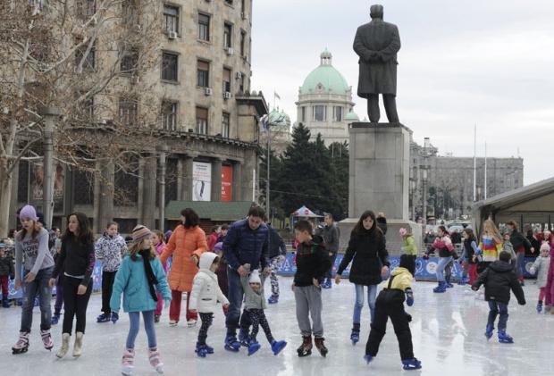 Šta raditi u Beogradu ove nedlje - Klizanje na Trgu