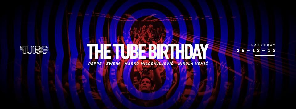 Šta raditi u Beogradu ove nedlje - Rođendan u Tube-u
