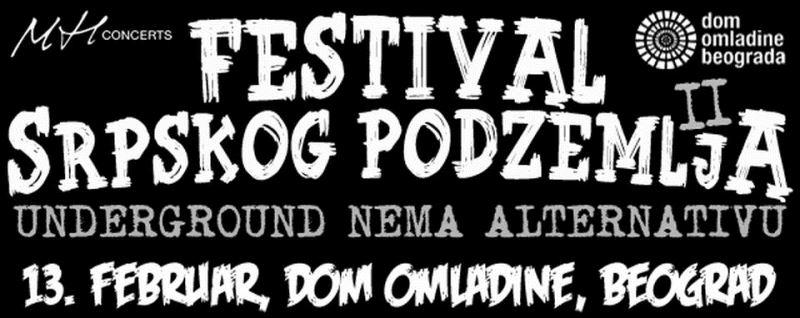Šta raditi u Beogradu ove nedelje - Festival podzemlja