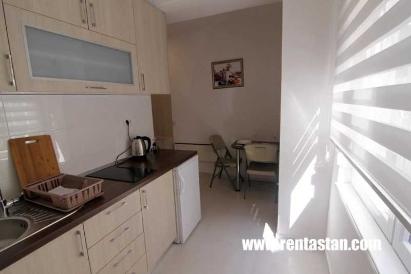 Apartment for a day near Kalemegdan - kitchen and dining area