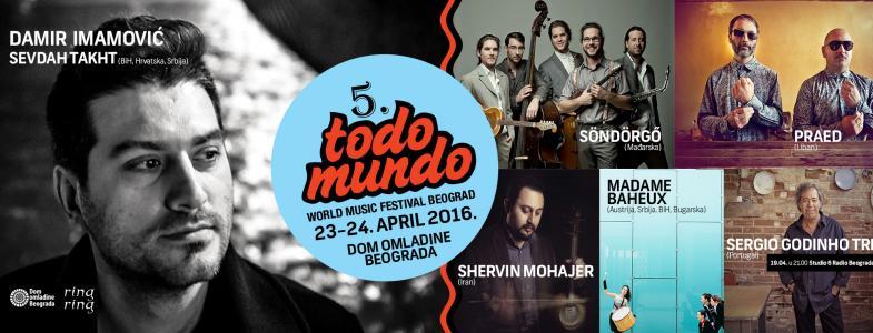 Šta raditi u Beogradu ove nedelje - Todo mundo festival