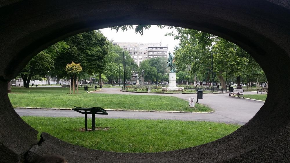 Students Park Belgrade View