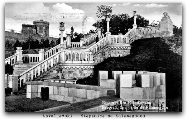 Kalemegdan stepenice