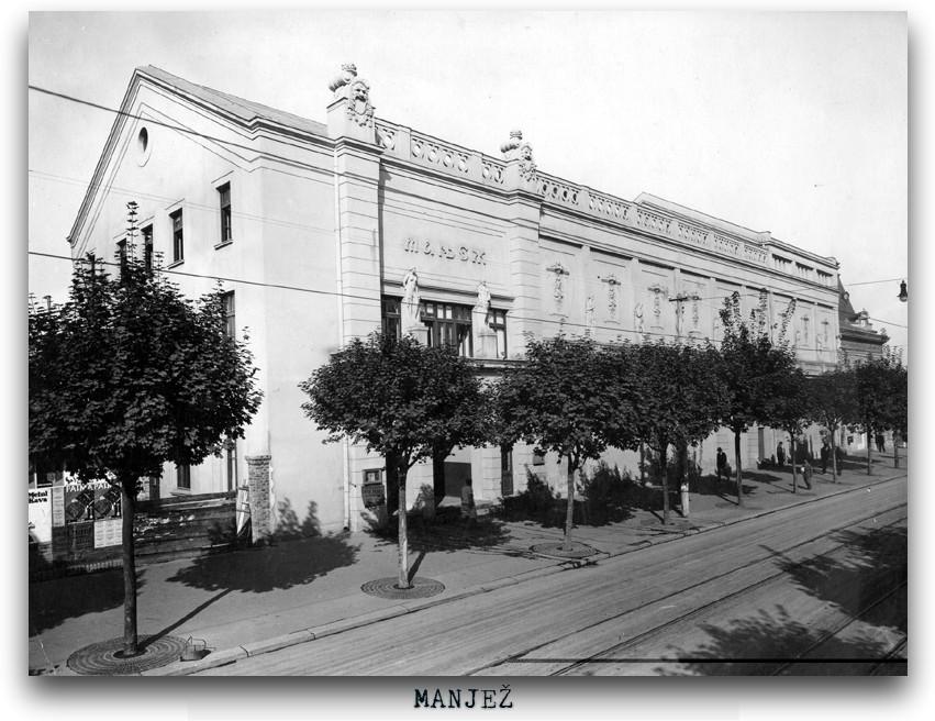Krasnov zgrada Manjez