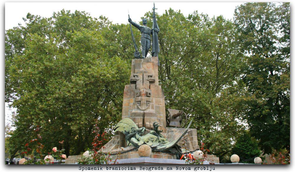 Spomenik na Novom groblju