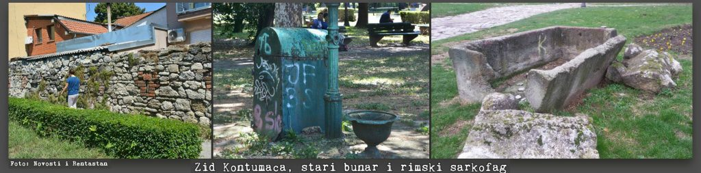 bunar i sarkofag, zemunski park