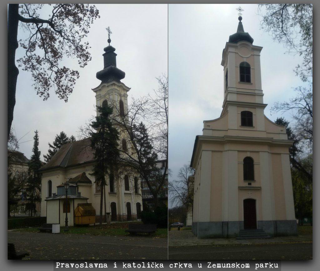 Crkve u Zemunskom parku