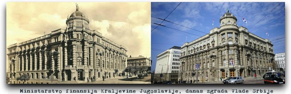 zgrada Vlade Srbije, Rusi graditelji Beograda