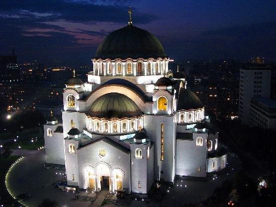 hram svetog save mapa Hram Svetog Save na Vračaru u Beogradu hram svetog save mapa