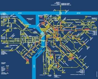 mapa linija beograd transport u Beogradu, linije gradskog prevoza mapa linija beograd